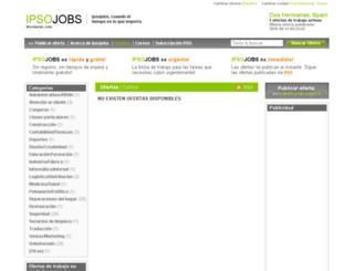 doshermanas.ipsojobs.com screenshot