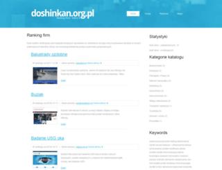 doshinkan.org.pl screenshot