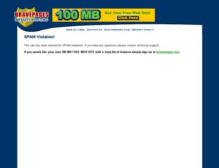 dosisdehumor.bravepages.com screenshot