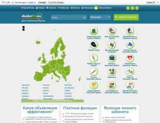 doska-ru.eu screenshot