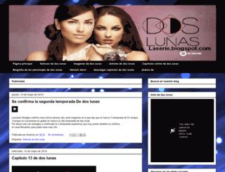 doslunaslaserie.blogspot.mx screenshot