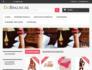dospalne.sk screenshot