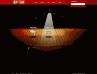 doss.com.au screenshot
