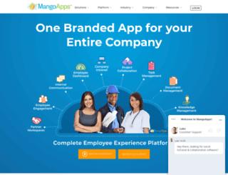dossaviation.mangoapps.com screenshot