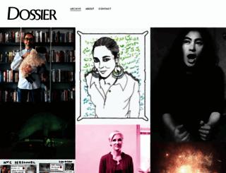dossierjournal.com screenshot