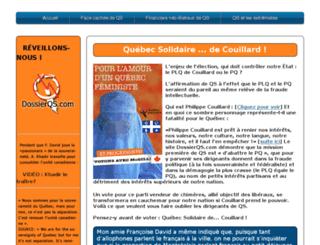 dossierqs.com screenshot