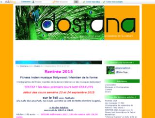 dostana.eklablog.com screenshot