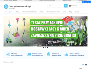 dostawkadowozka.pl screenshot