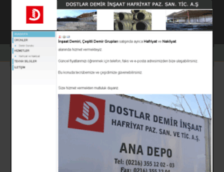 dostlardemir.com screenshot