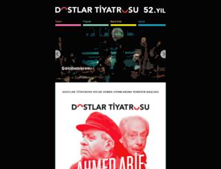 dostlartiyatrosu.com screenshot