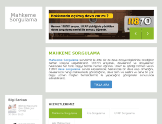 dosyasorgulama.net screenshot