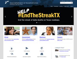 dot.state.tx.us screenshot