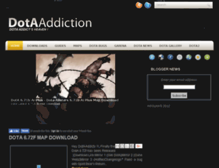 dota-addiction.blogspot.com screenshot