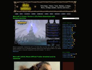 dota-utilities.com screenshot