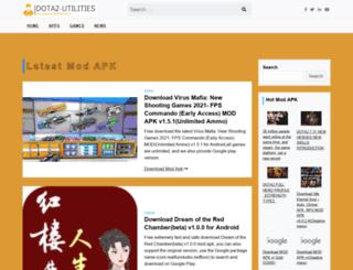 dota2-utilities.com screenshot