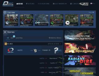 dota247.com screenshot