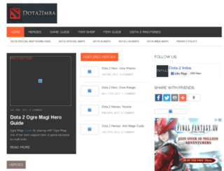 dota2imba.com screenshot