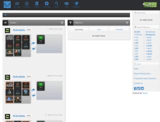 dota2wage.com screenshot