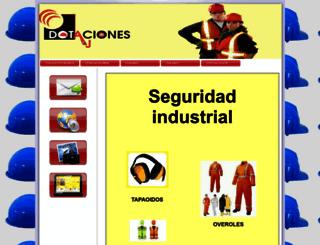 dotacionesayj.amawebs.com screenshot