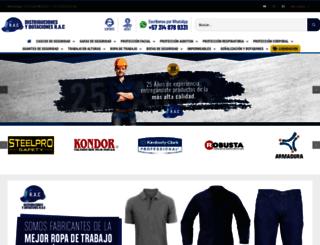 dotacionesrac.com screenshot