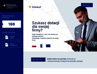 dotacje.pl screenshot