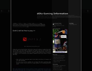 dotainformation.blogspot.com screenshot