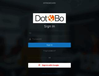dotandbo.pingboard.com screenshot