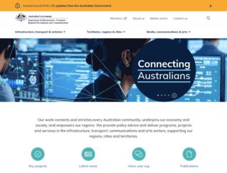 dotars.gov.au screenshot