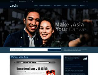 dotasia.org screenshot