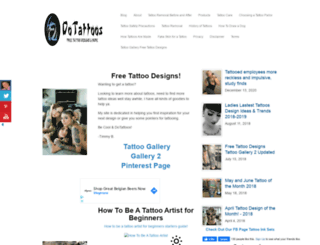 dotattoos.com screenshot