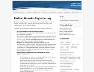 dotberlin-registrierung.de screenshot
