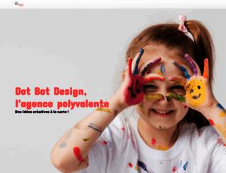 dotbotdesign.com screenshot