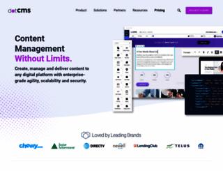 dotcms.com screenshot