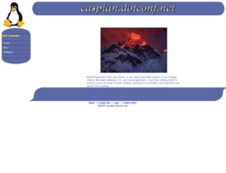 dotconf.net screenshot
