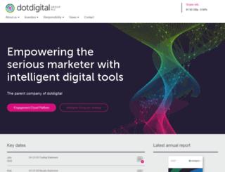 dotdigitalgroup.com screenshot