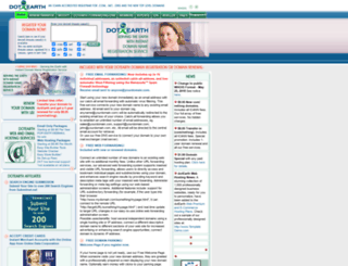 dotearth.com screenshot