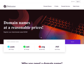 dotname.co screenshot