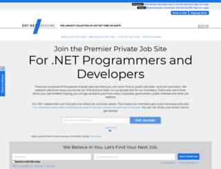dotnetcrossing.com screenshot