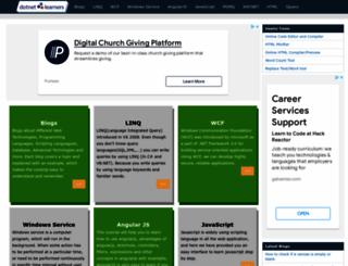 dotnetlearners.com screenshot