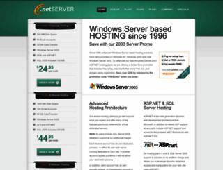 dotnetserver.com screenshot