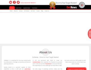 dotnews.co.za screenshot