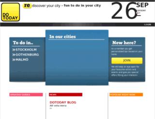 dotoday.se screenshot