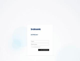 dotproject.brainsonic.com screenshot