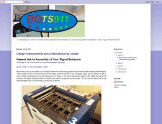 dots911.blogspot.com screenshot