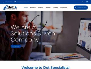 dotspecialists.com screenshot