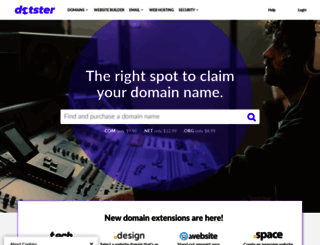 dotster.com screenshot
