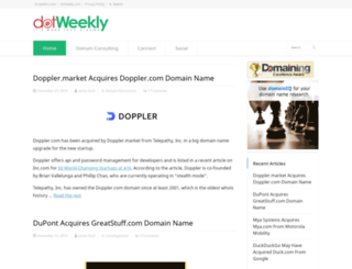 dotweekly.com screenshot