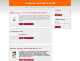 double-je.com screenshot