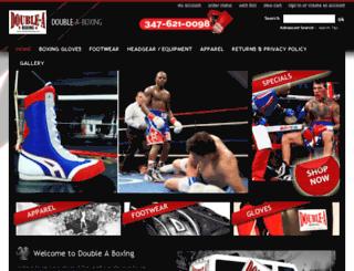 doubleaboxing.com screenshot