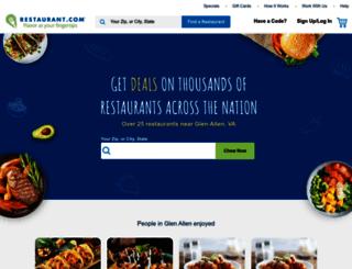 doubledeals.restaurant.com screenshot